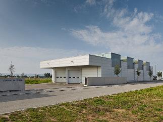 Neubau Stahlcon GmbH, Foto: Zooey Braun