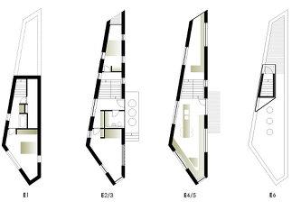 Ein schmales Haus, Plan: Geri Blasisker