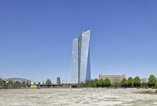 Europäische Zentralbank - Neubau, Foto: Stefan Dauth / ARTUR IMAGES