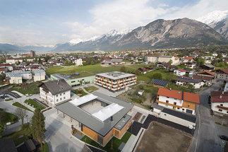 Dorfzentrum Mils, Foto: Birgit Koell