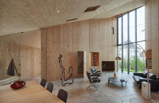nextroom.at - Pure Wood House, Michael Shamiyeh - Österreich - 2015