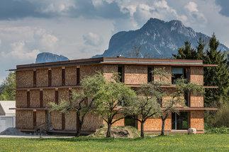 Plusenergie-Bürogebäude und Kulturkraftwerk oh456, Foto: Walter Luttenberger