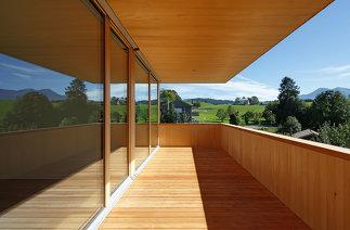 Passivhaus Plus Wohnanlage Unterstein, Foto: Robert Fessler
