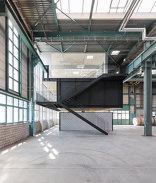 Sozialräume für eine Werkhalle, Foto: Furrer Jud Architekten