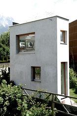 Ein schmales Haus, Foto: Geri Blasisker