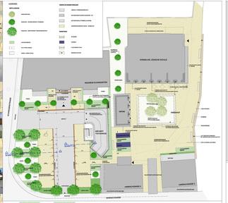 Elkangarten alte jüdische Schule Hohenems, Plan: stadtland
