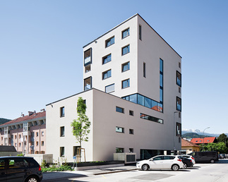 Wohnbebauung Roseggerstraße, Foto: Christian Flatscher