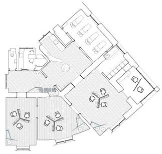 Salon LOOksus, Plan: STUDiO LOiS