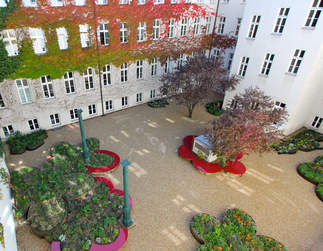 Blumenhof ÖSW, Foto: Karin Standler