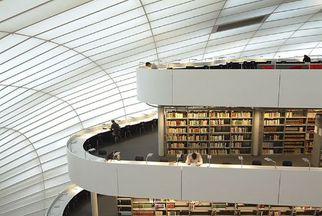 Philologische Bibliothek der Freien Universität Berlin, Foto: Jürgen Henkelmann / ARTUR IMAGES