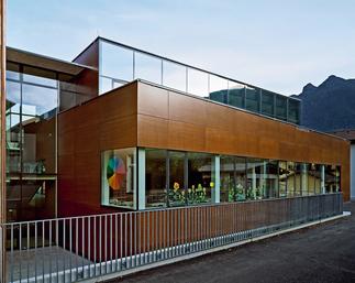 Erweiterung Volksschule, Foto: Angelo Kaunat
