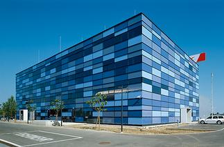 Trainingsgebäude Austrian Airlines, Foto: Rupert Steiner