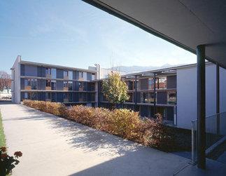 """Seniorenwohnanlage """"Haus im Seidnergarten"""", Foto: Günter Richard Wett"""
