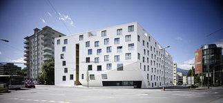 Wohn- und Bürohaus Höttinger Au, Foto: B&R