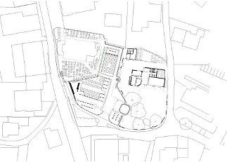 Pfarrhof Erl, Plan: umfeld architectural environments