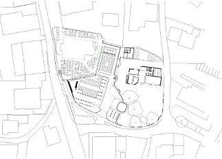 Pfarrhof Erl, Plan: umfeld architectural environments