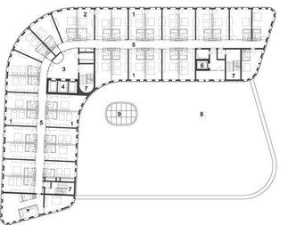 Hotel Zwei, Plan: Zechner & Zechner