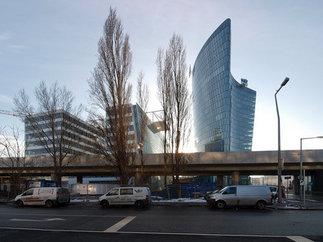 Bürohochhaus Hoch Zwei, Foto: Heinz Schmölzer