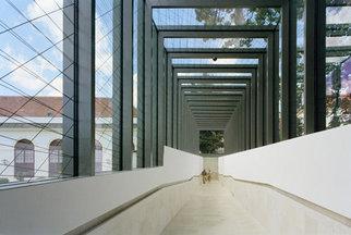 Belvedere Wien - Verbindungsgang zwischen dem Unteren Belvedere und der Orangerie, Foto: Ulrich Schwarz