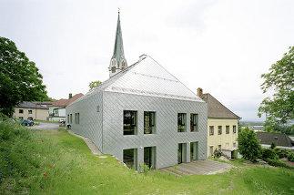 Um- und Zubau Pfarrheim Mauthausen, Foto: Wolfgang Leeb