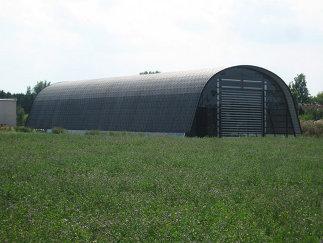EFAFLEX Lagerhalle, Foto: ARTEC Architekten