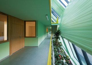 """Passivhaus """"Generationen Wohnen am Mühlgrund"""", Foto: Bruno Klomfar"""