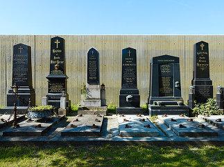 Wirtschaftsgebäude Zentralfriedhof Wien, Foto: Bruno Klomfar