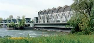 Kraftwerk Birsfelden, Foto: Kraftwerk Birsfelden AG