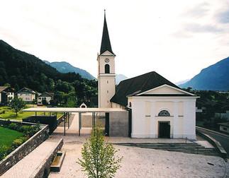 Kirche Nüziders Erweiterung und Restaurierung, Foto: Albrecht Imanuel Schnabel