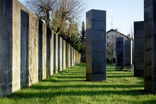 Urnenstelen Friedhof Hörbranz, Foto: Juri Troy