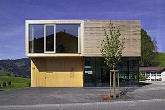 Nextroomat Gemeindezentrum Café Kindergarten Fink Thurnher