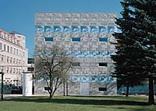 Bibliothek der Fachhochschule Eberswalde, Foto: Reinhard Gömer