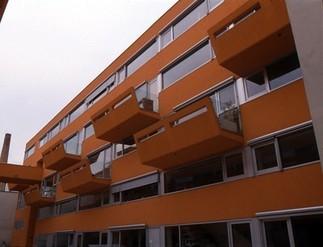 Sargfabrik - Wohnheim Matznergasse, Foto: Hertha Hurnaus