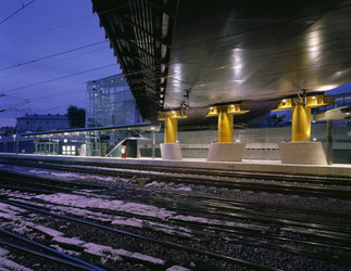 S-Bahn-Station 'Gnigl - Schwabenwirtsbrücke', Foto: Gebhard Sengmüller