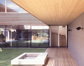 Doppelhaus Gritsch/Jennewein, Foto: Günter Richard Wett
