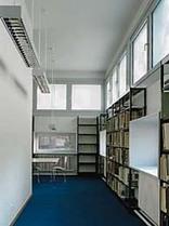Bibliothek der Fachhochschule Eberswalde, Foto: Ulrich Schwarz
