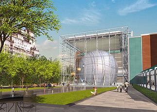 Hayden Planetarium, Plan: © dbox inc.