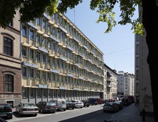 Fassade Amtshaus Grabnergasse, Foto: Anna Stöcher