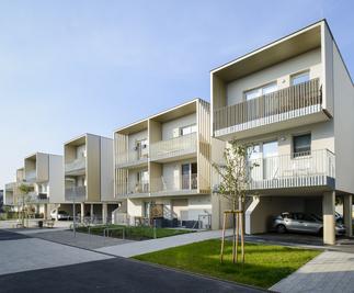 POD - Wohnbebauung Podhagskygasse, Foto: Lukas Schaller