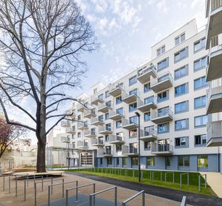 Wohnhausanlage Darnautgasse, Foto: Stephan Huger