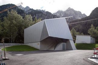 Seilbahnstationen Funivia Albigna, Foto: Alder Clavuot Nunzi Architekten GmbH ETH SIA