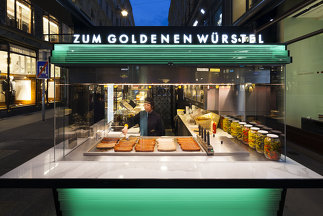 Würstelstand Spiegelgasse, Foto: Christoph Panzer