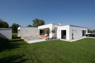Architekten Bungalow nextroom.at - bungalow k., paschinger architekten - siegendorf (a