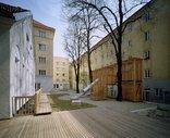Heimhof Innenhofgestaltung, Foto: Gisela Erlacher