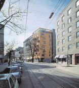 Wohn- und Geschäftshaus in Wien, Foto: Marc Lins