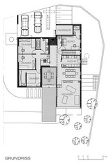 Haus K., Plan: HERZOG_HRABAL