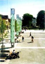 Pedestrian zone in Martin, Foto: Miriam Faragulová