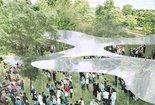 Serpentine Pavilion 2009, Schaubild: SANAA Kazuyo Sejima, Ryue Nishizawa & Associates