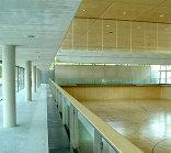 Sporthalle Oberndorf, Foto: Gebhard Sengmüller