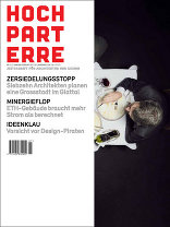 hochparterre 01-02|2011 Zeitschrift für Architektur und Design